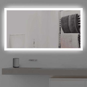 Badspiegel mit Beleuchtung für das Badezimmer kostenloser Versand
