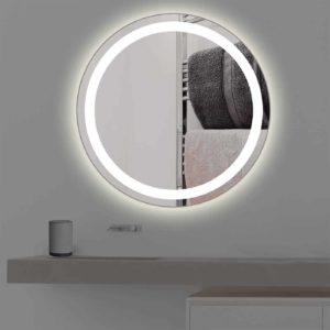 badspiegel mit beleuchtung rund r 401 t v gepr ft kostenloser versand. Black Bedroom Furniture Sets. Home Design Ideas