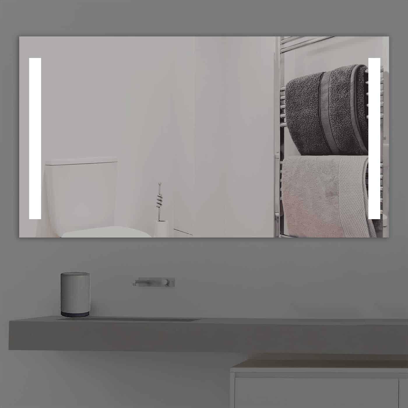 Badspiegel LED beleuchtet duoline