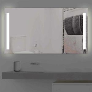 badspiegel led beleuchtet duoline k 219 t v gepr ft. Black Bedroom Furniture Sets. Home Design Ideas