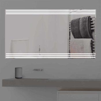 Badspiegel LED beleuchtet | three Line | K 353