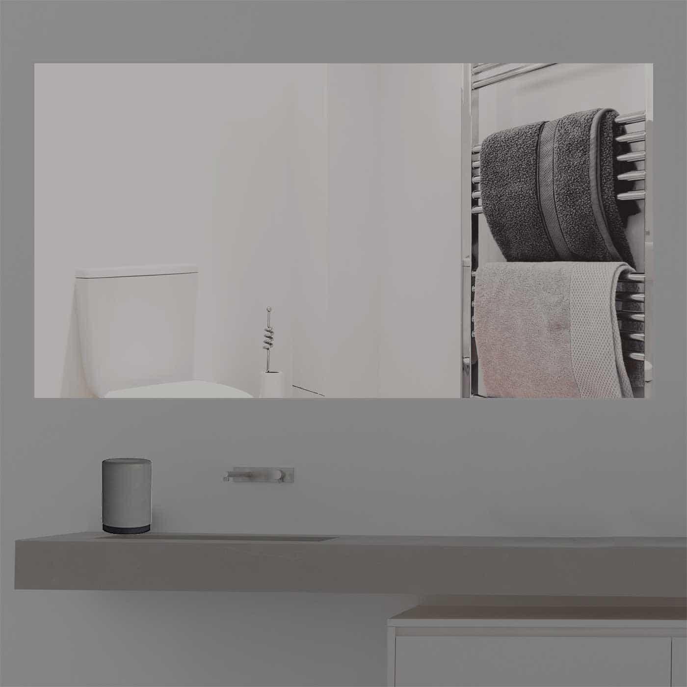 Badezimmerspiegel Rechteckig.Spiegel Nach Mass Rechteckig Versand
